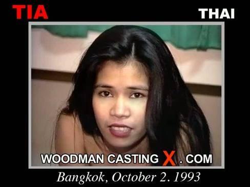 Tia - `Tia casting` - by Pierre Woodman for WOODMANCASTINGX