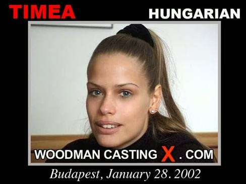 Timea - `Timea casting` - by Pierre Woodman for WOODMANCASTINGX