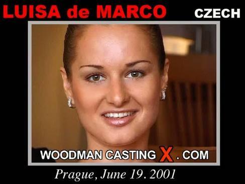 Luisa De Marco - `Luisa De Marco casting` - by Pierre Woodman for WOODMANCASTINGX