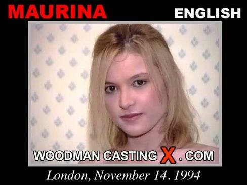 Maurina - `Maurina casting` - by Pierre Woodman for WOODMANCASTINGX