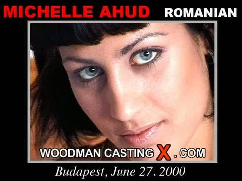 Michelle Ahud - `Michelle Ahud casting` - by Pierre Woodman for WOODMANCASTINGX