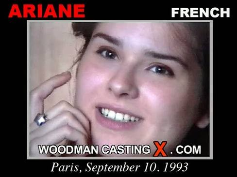 Ariane - `Ariane casting` - by Pierre Woodman for WOODMANCASTINGX