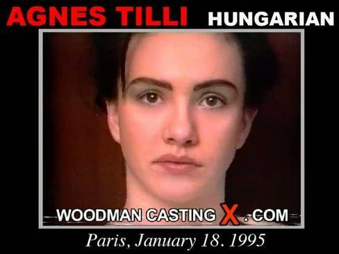 Agnes Tilli - `Agnes Tilli casting` - by Pierre Woodman for WOODMANCASTINGX