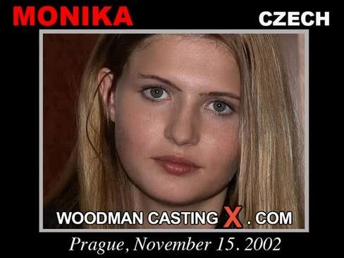 Monika - `Monika casting` - by Pierre Woodman for WOODMANCASTINGX