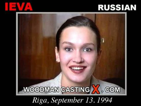 Ieva - `Ieva casting` - by Pierre Woodman for WOODMANCASTINGX