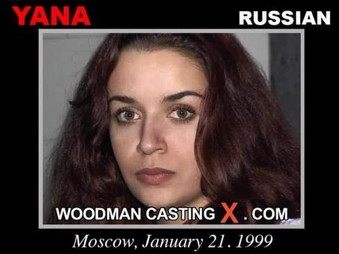 Yana - `Yana casting` - by Pierre Woodman for WOODMANCASTINGX