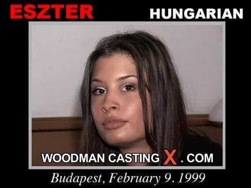 Eszter - `Eszter casting` - by Pierre Woodman for WOODMANCASTINGX