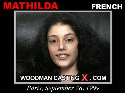 Mathilda - `Mathilda casting` - by Pierre Woodman for WOODMANCASTINGX