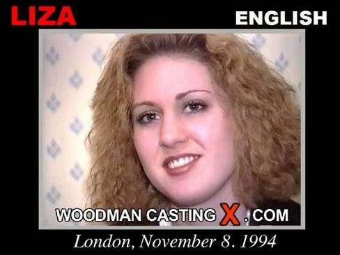 Liza - `Liza casting` - by Pierre Woodman for WOODMANCASTINGX