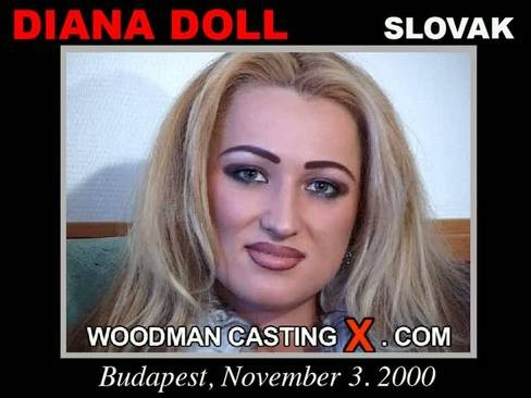 Diana Doll - `Diana Doll casting` - by Pierre Woodman for WOODMANCASTINGX