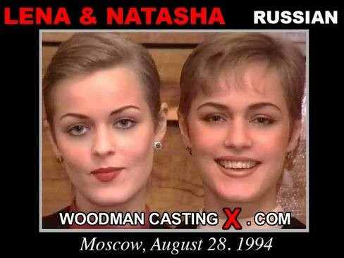 Lena and Natasha - `Lena and Natasha casting` - by Pierre Woodman for WOODMANCASTINGX