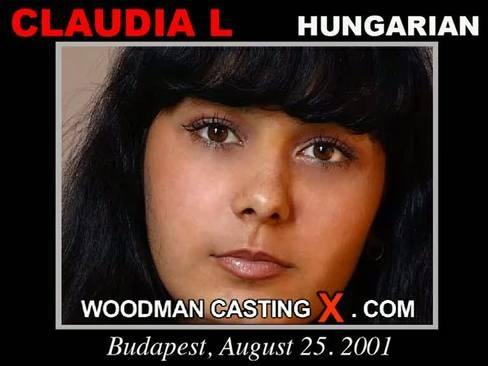 Claudia L - `Claudia L casting` - by Pierre Woodman for WOODMANCASTINGX