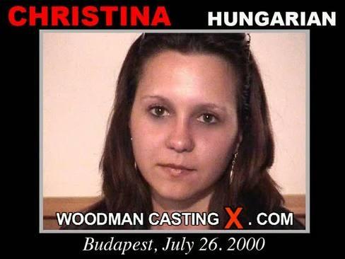 Christina - `Christina casting` - by Pierre Woodman for WOODMANCASTINGX