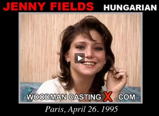 Jenny Fields - `Jenny Fields casting` - by Pierre Woodman for WOODMANCASTINGX
