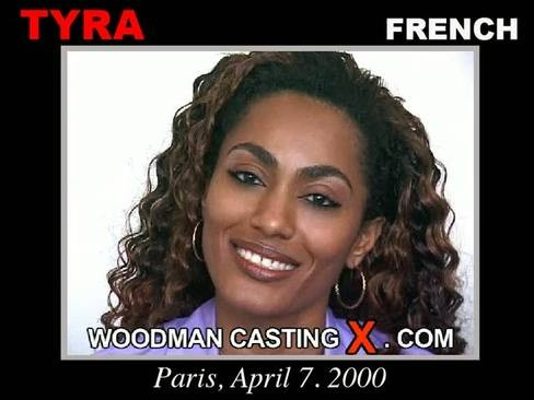 Tyra - `Tyra casting` - by Pierre Woodman for WOODMANCASTINGX