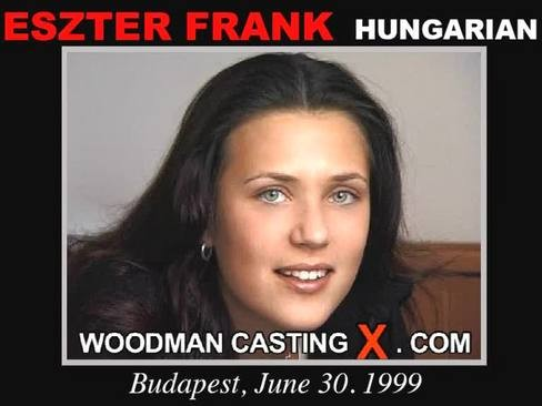 Eszter Frank - `Eszter Frank casting` - by Pierre Woodman for WOODMANCASTINGX