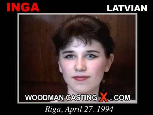 Inga - `Inga casting` - by Pierre Woodman for WOODMANCASTINGX