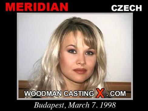 Meridian - `Meridian casting` - by Pierre Woodman for WOODMANCASTINGX