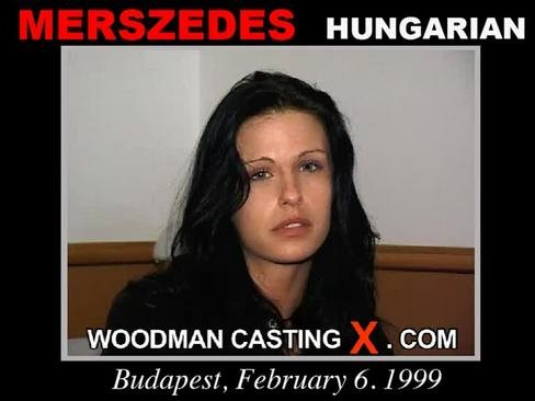 Merszedes - `Merszedes casting` - by Pierre Woodman for WOODMANCASTINGX