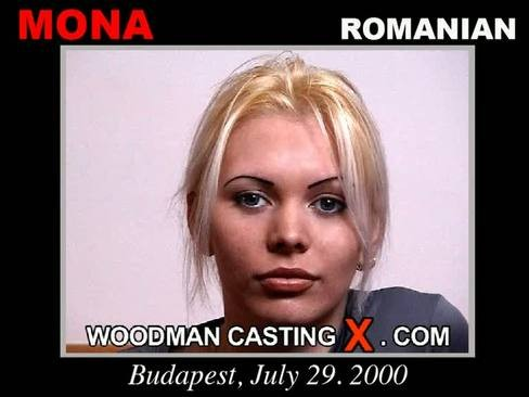 Mona - `Mona casting` - by Pierre Woodman for WOODMANCASTINGX