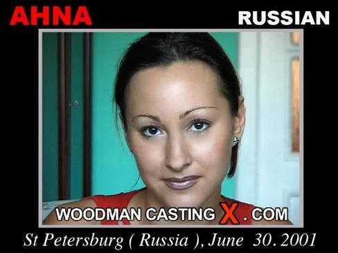 Ahna - `Ahna casting` - by Pierre Woodman for WOODMANCASTINGX