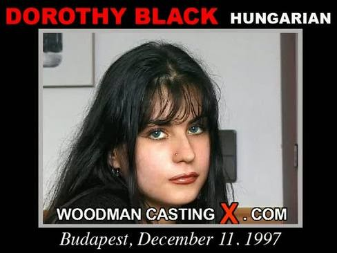 Dorothy Black - `Dorothy Black casting` - by Pierre Woodman for WOODMANCASTINGX