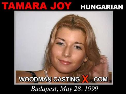 Tamara Joy - `Tamara Joy casting` - by Pierre Woodman for WOODMANCASTINGX