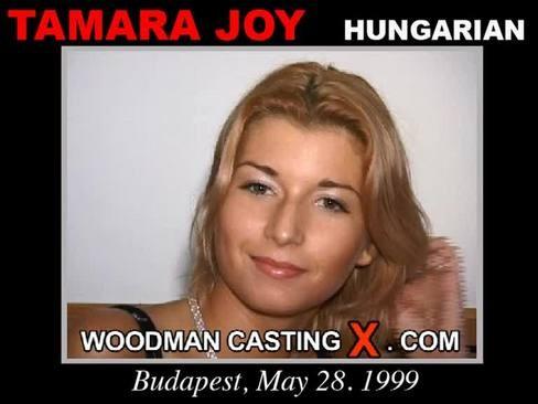 Tamara Joy - `Tamara Joy casting` - by Pierre Woodman for WOODMANCASTINGX