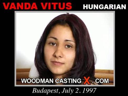 Vanda Vitus - `Vanda Vitus casting` - by Pierre Woodman for WOODMANCASTINGX