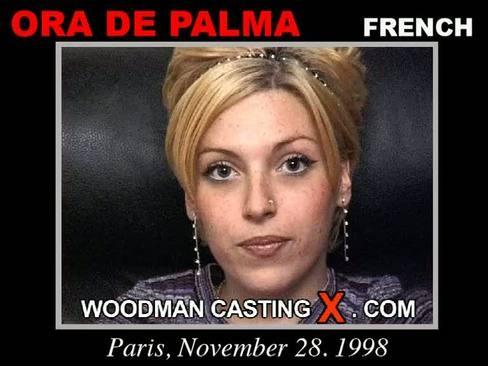 Ora De Palma - `Ora De Palma casting` - by Pierre Woodman for WOODMANCASTINGX