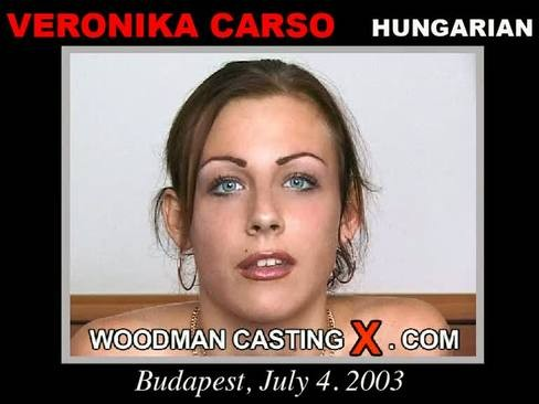 Veronika Carso - `Veronika Carso casting` - by Pierre Woodman for WOODMANCASTINGX