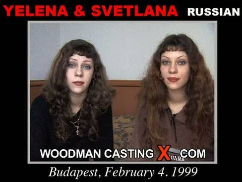 Yelena And Svetlana - `Yelena and Svetlana casting` - by Pierre Woodman for WOODMANCASTINGX