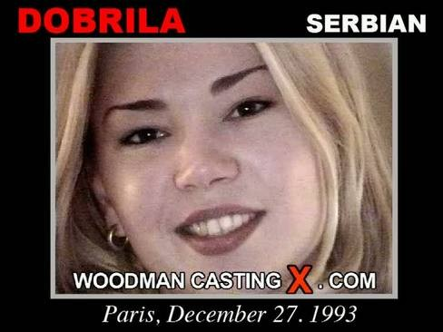 Dobrila - `Dobrila casting` - by Pierre Woodman for WOODMANCASTINGX