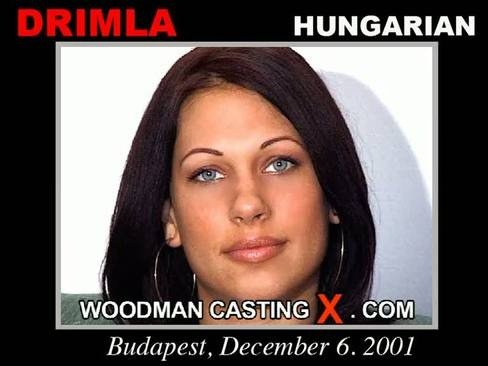 Drimla - `Drimla casting` - by Pierre Woodman for WOODMANCASTINGX