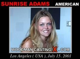 Sunrise Adams  from WOODMANCASTINGX