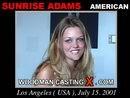 Sunrise Adams casting