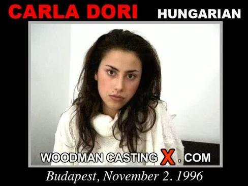 Carla Dori - `Carla Dori casting` - by Pierre Woodman for WOODMANCASTINGX
