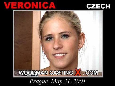 Veronica - `Veronica casting` - by Pierre Woodman for WOODMANCASTINGX