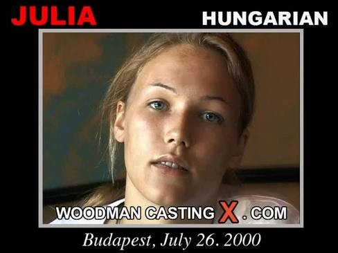 Julia - `Julia casting` - by Pierre Woodman for WOODMANCASTINGX