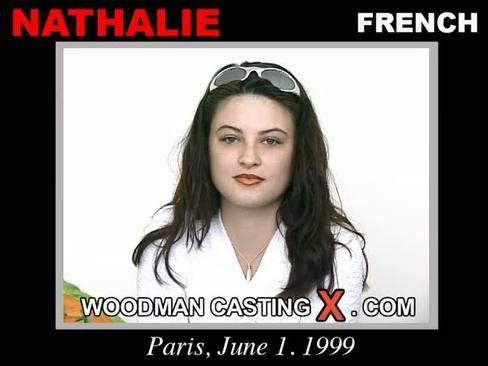 Nathalie - `Nathalie casting` - by Pierre Woodman for WOODMANCASTINGX