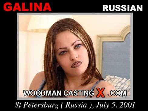 Galina - `Galina casting` - by Pierre Woodman for WOODMANCASTINGX