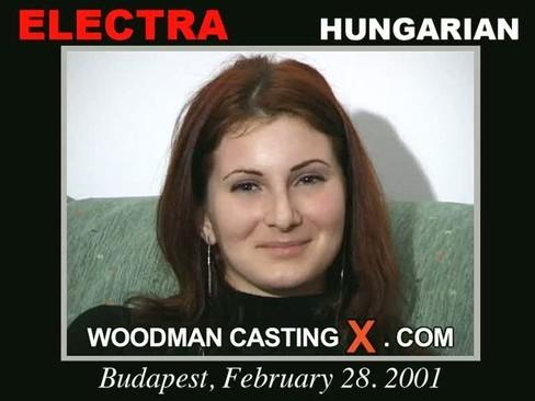 Elektra - `Elektra casting` - by Pierre Woodman for WOODMANCASTINGX