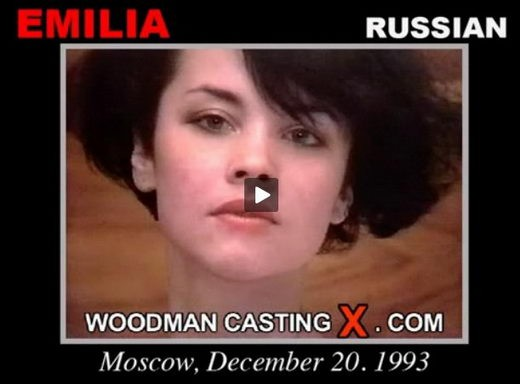 Emilia - `Emilia casting` - by Pierre Woodman for WOODMANCASTINGX