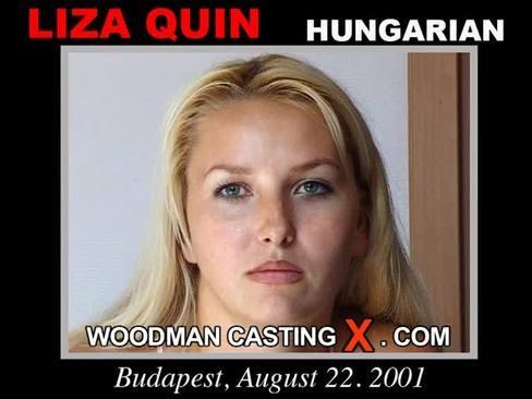 Liza Quin - `Liza Quin casting` - by Pierre Woodman for WOODMANCASTINGX