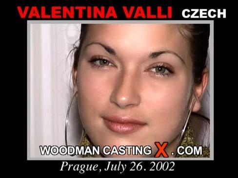Valentina Valli - `Valentina Valli casting` - by Pierre Woodman for WOODMANCASTINGX