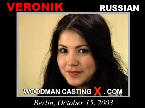 Veronik - `Veronik casting` - by Pierre Woodman for WOODMANCASTINGX