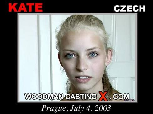 Kate - `Kate casting` - by Pierre Woodman for WOODMANCASTINGX