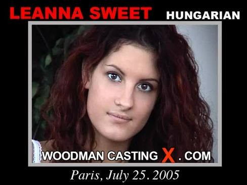 Leanna Sweet - `Leanna Sweet casting` - by Pierre Woodman for WOODMANCASTINGX
