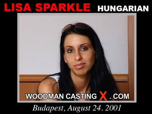Lisa Sparkle - `Lisa Sparkle casting` - by Pierre Woodman for WOODMANCASTINGX