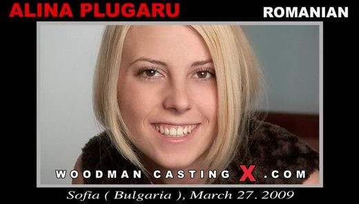 Alina Plugaru - `Alina Plugaru casting` - by Pierre Woodman for WOODMANCASTINGX